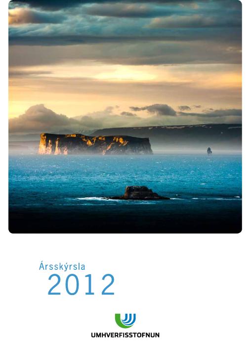 Ársskýrsla Umhverfisstofnunar árið 2012